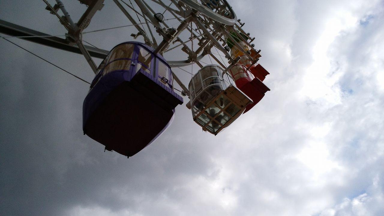 キサラピアのスケルトン観覧車