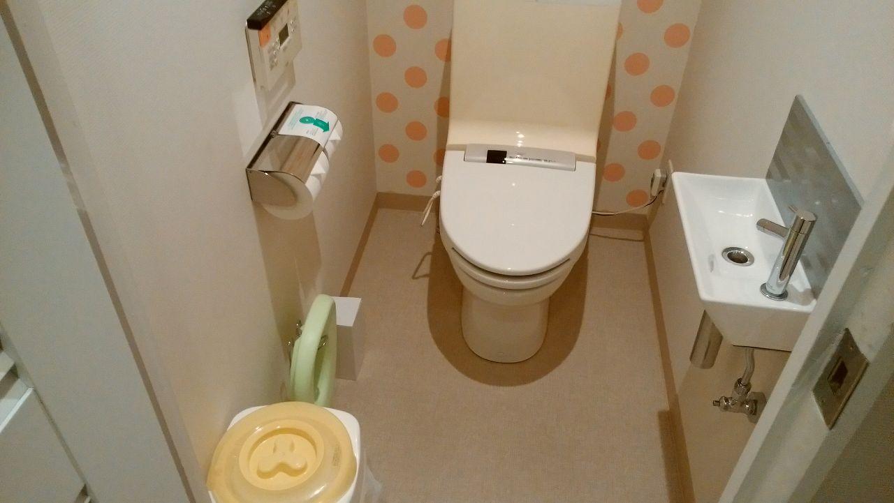 wakuwakuワンダールームのトイレ
