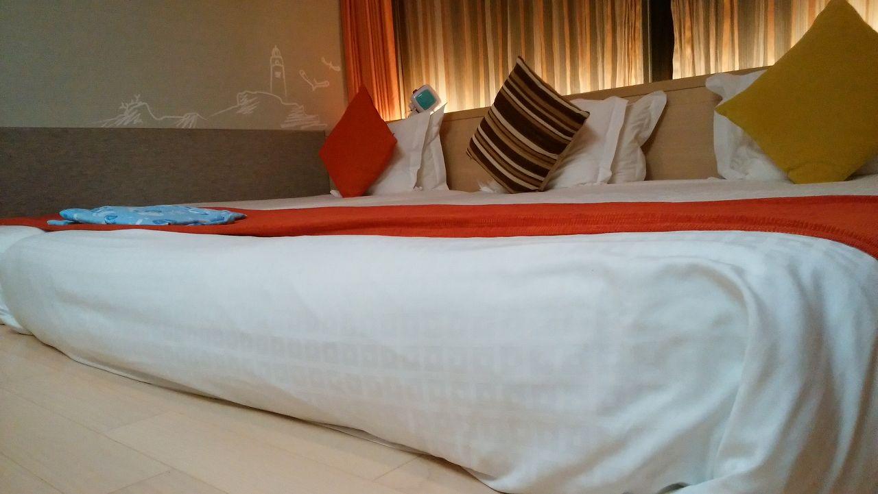 wakuwakuワンダールームのベッド