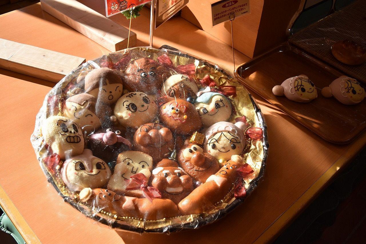 アンパンマンミュージアムのパンの種類