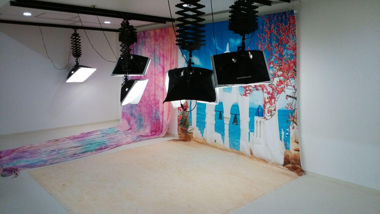 ピュアキッズ市川のフォトスタジオ