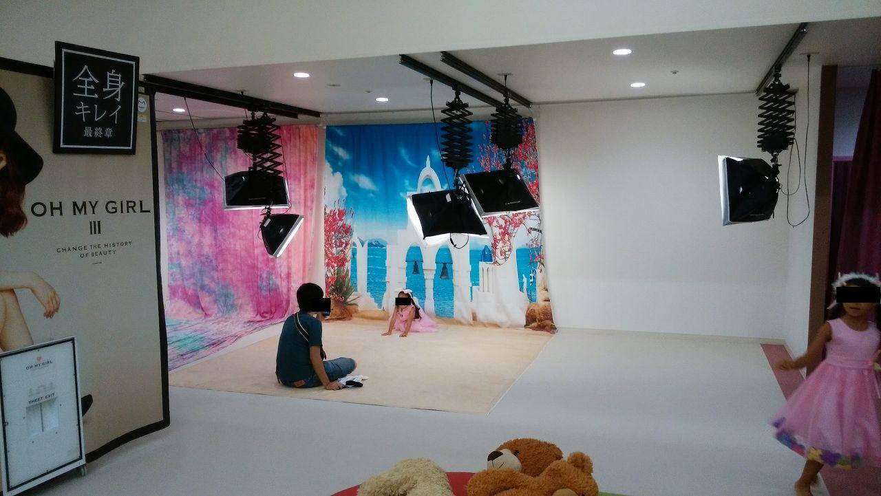 ピュアハートキッズランド市川のフォトスタジオ