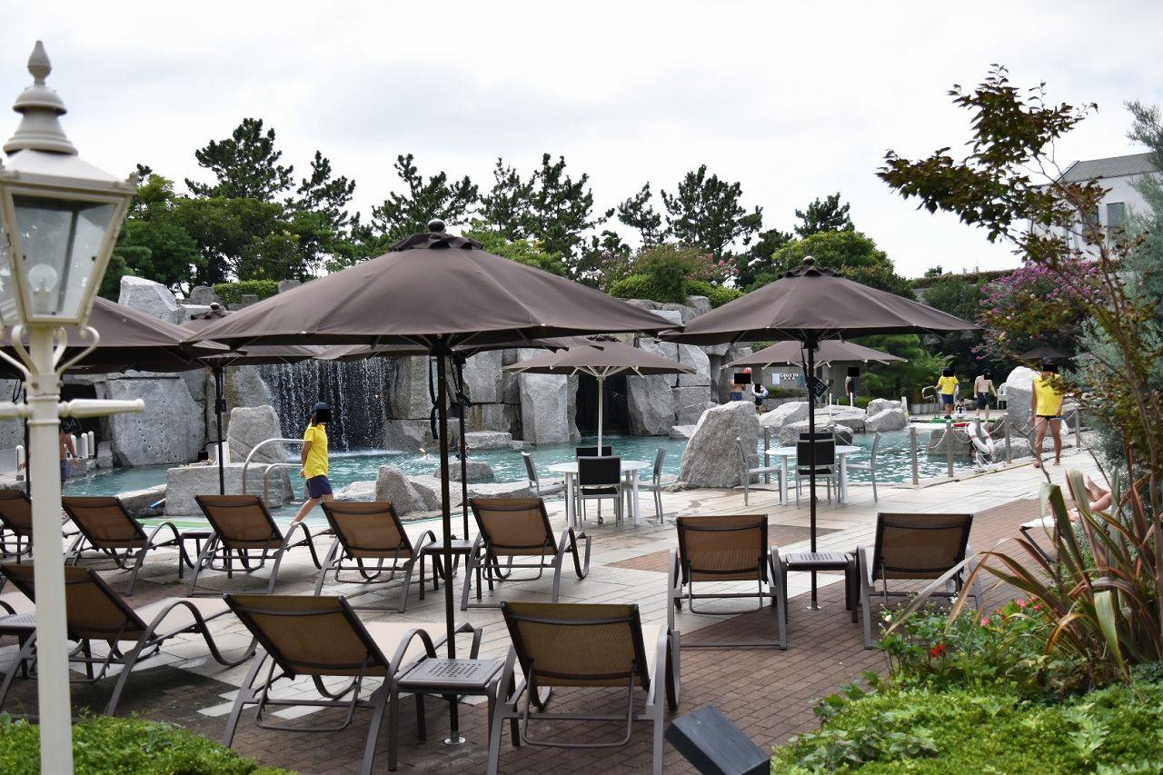 シェラトン舞浜の屋外プール