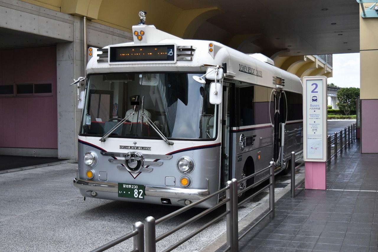 シェラトン・グランデ・トーキョーベイ行きのバス