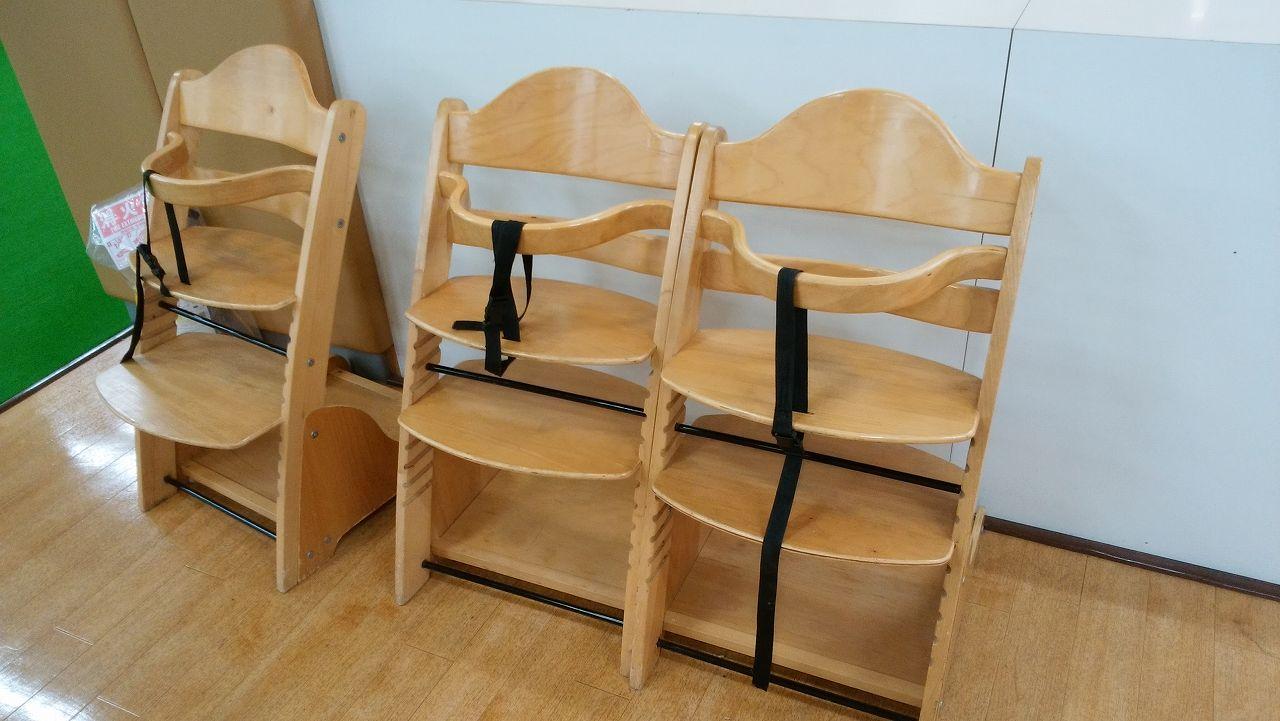 アメイジングワールド船橋の赤ちゃん椅子