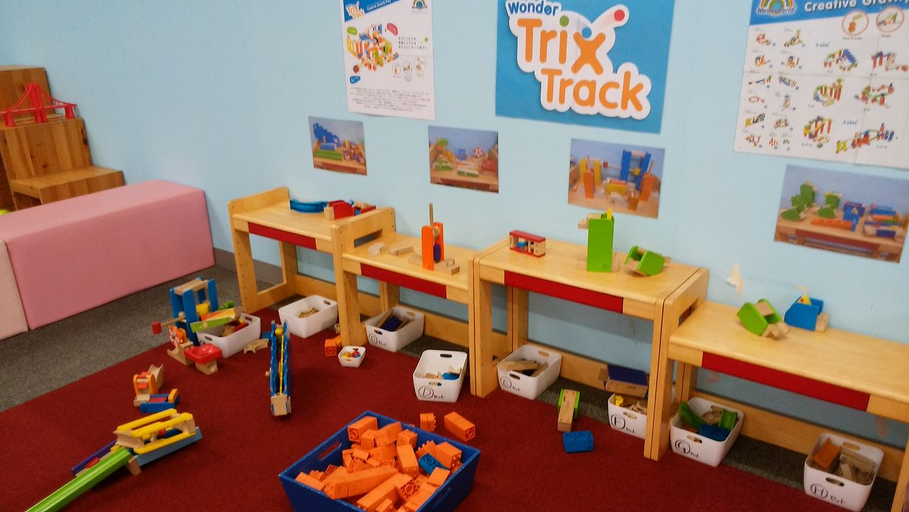 アメイジングワールド船橋の知育玩具