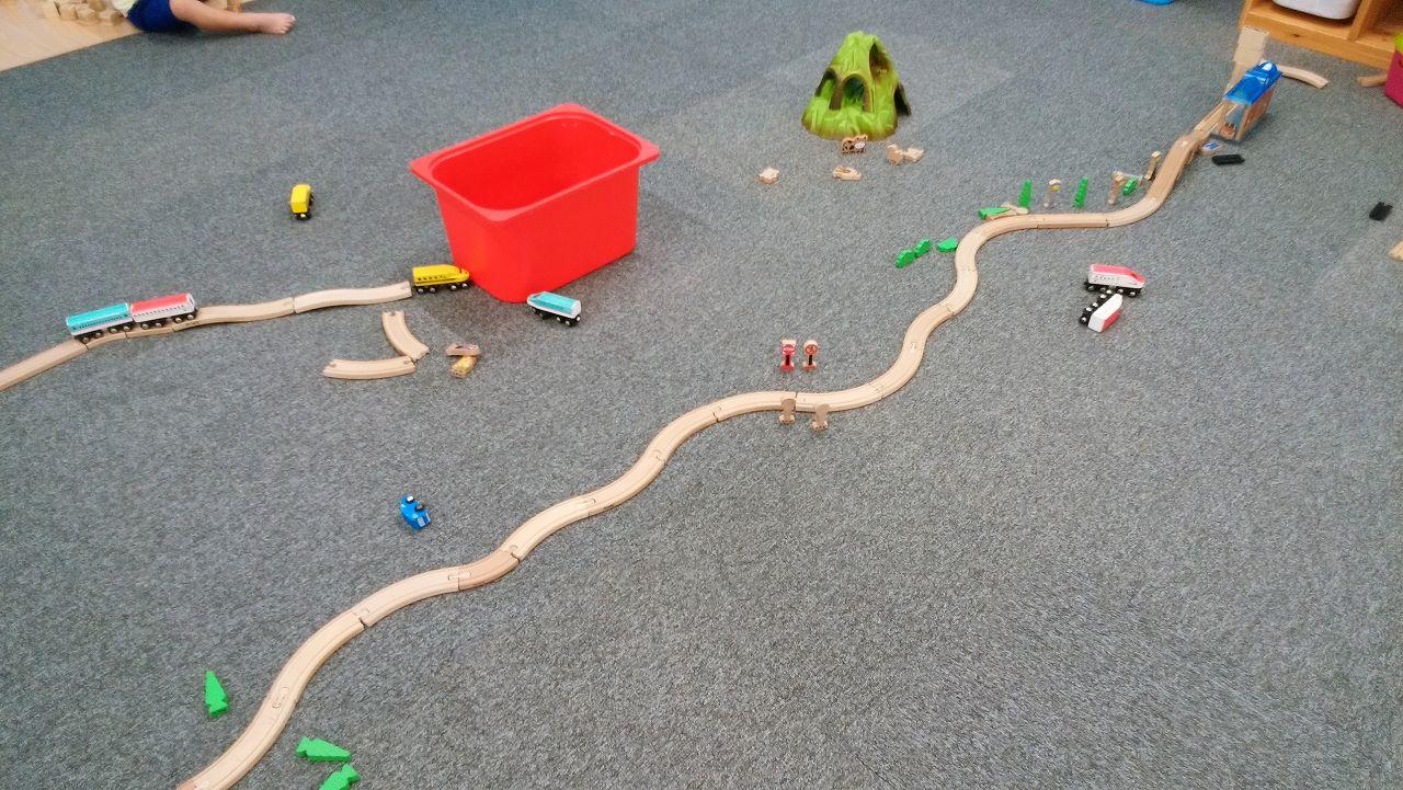 ビビット南船橋の電車のおもちゃ