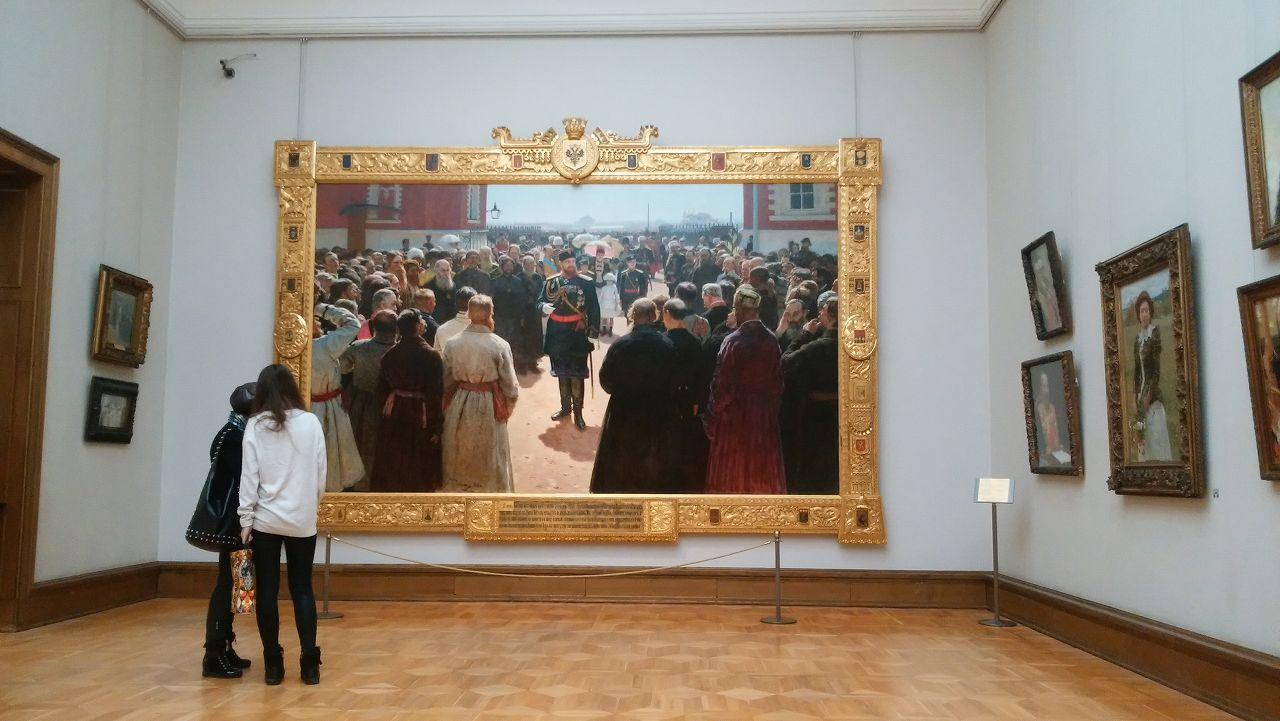 トレチャコフ美術館の絵は写真撮影できる