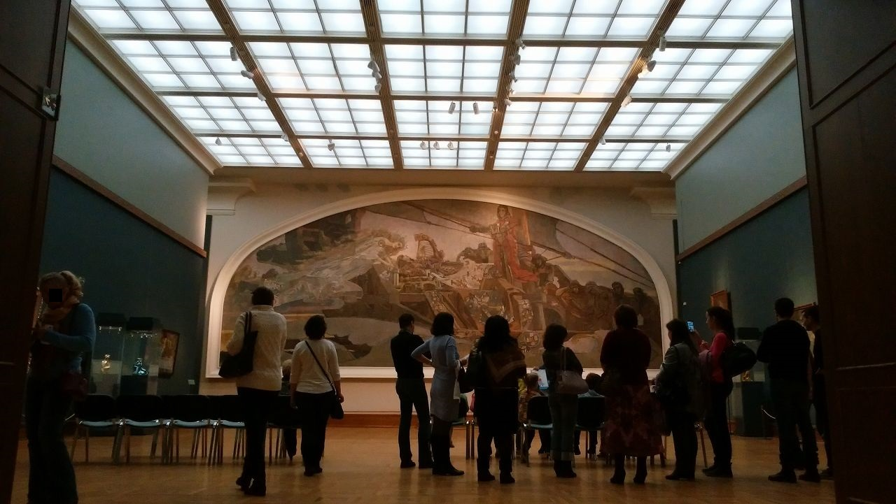 トレチャコフ美術館の絵