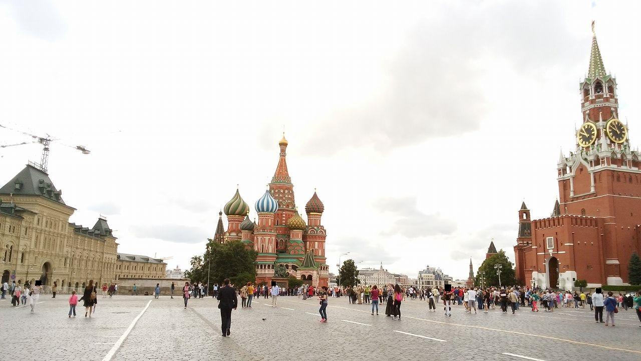 昼間の赤の広場