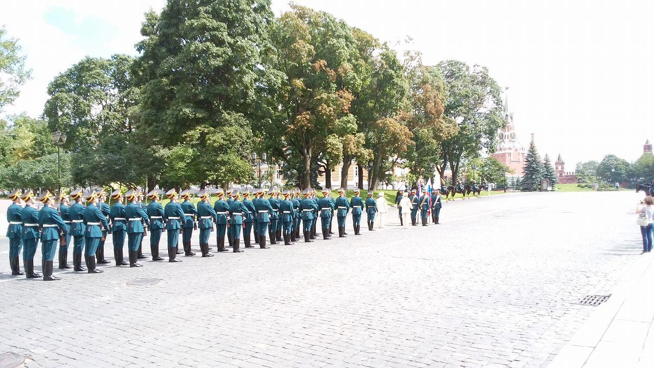 クレムリンのパレード