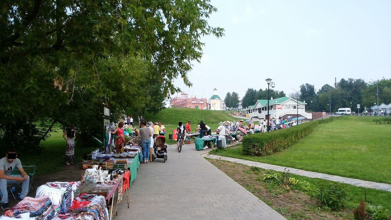 セルギエフポサードのお土産売り場