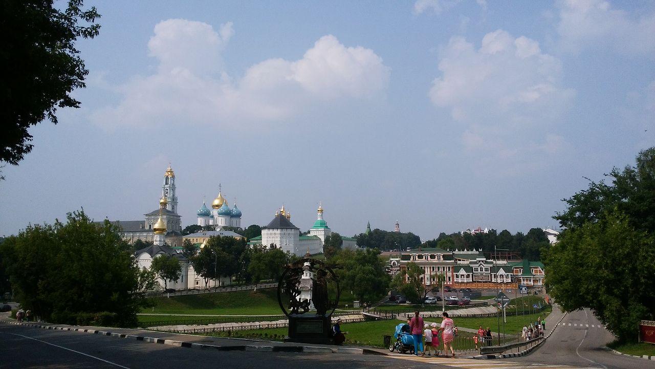 セルギエフポサードの街並み