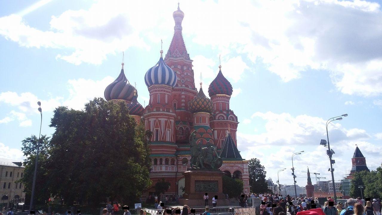 昼間の聖ワシリイ大聖堂