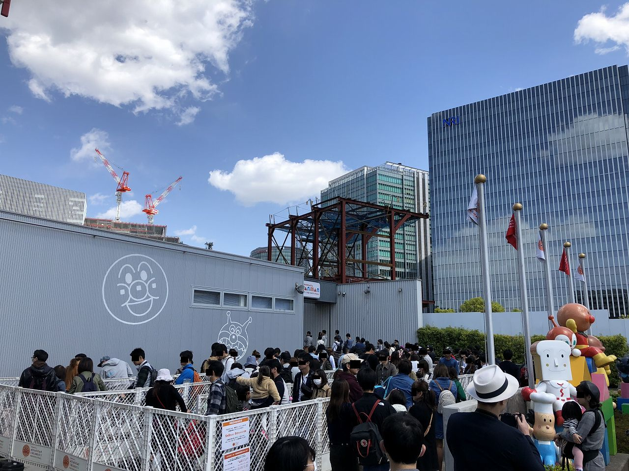 ミュージアム横浜入場の列