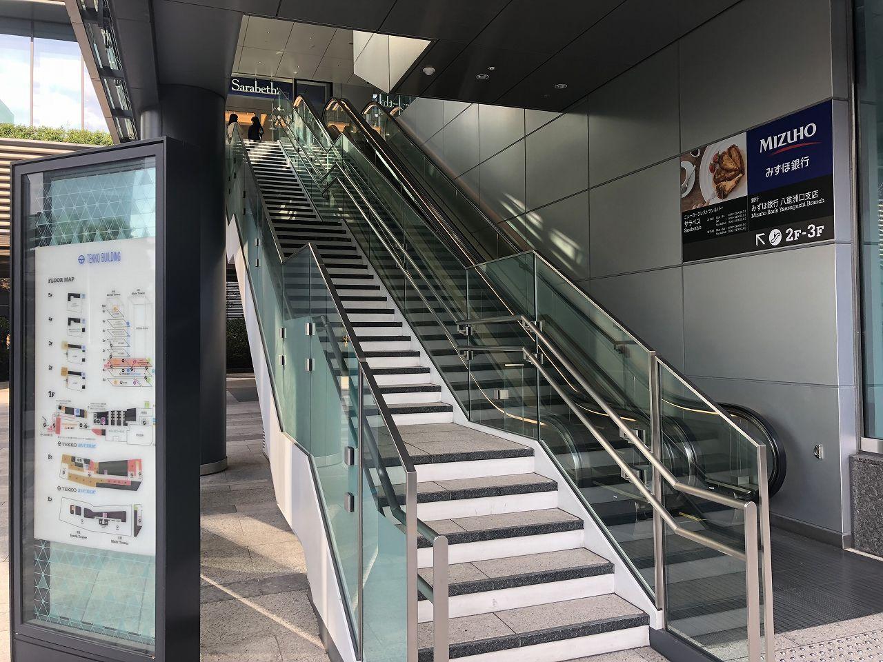 サラベス東京へのアクセス