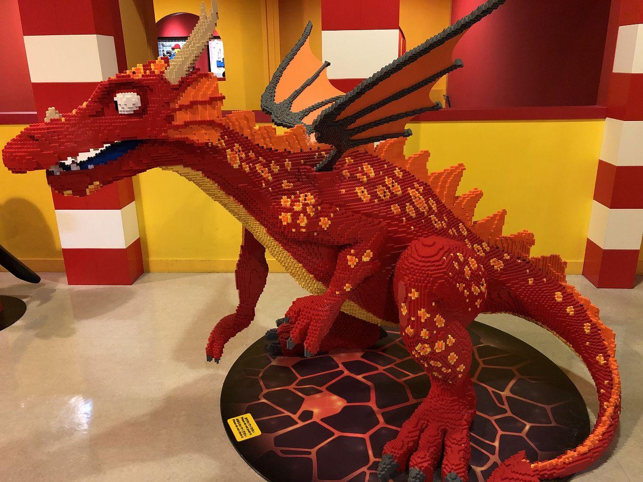 レゴで作られたモンスター