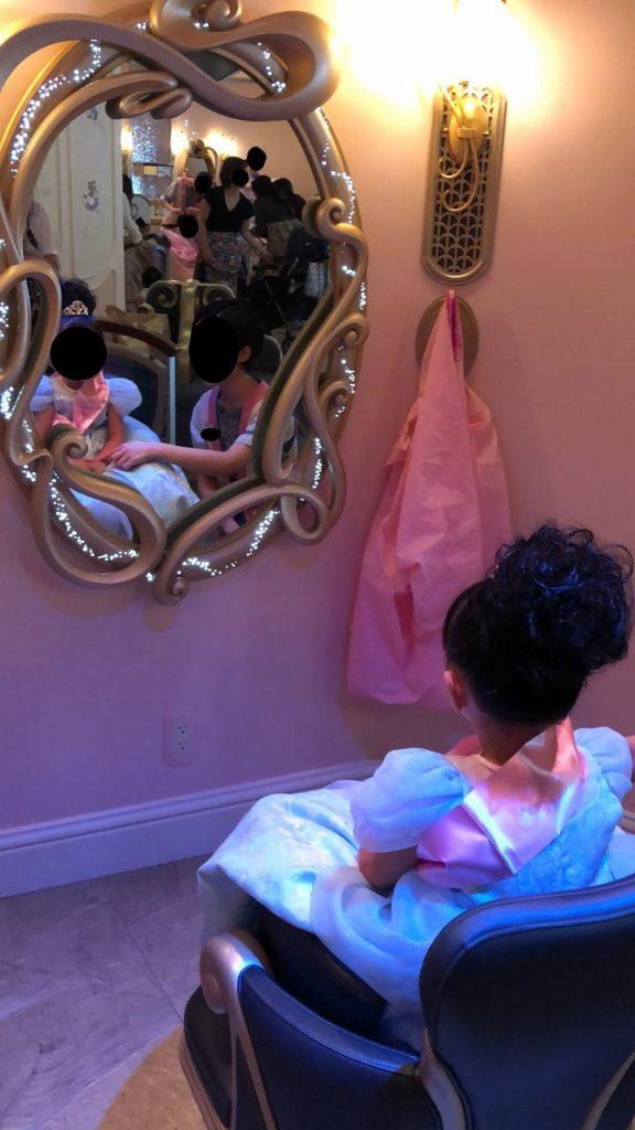 プリンセスドレスに変身