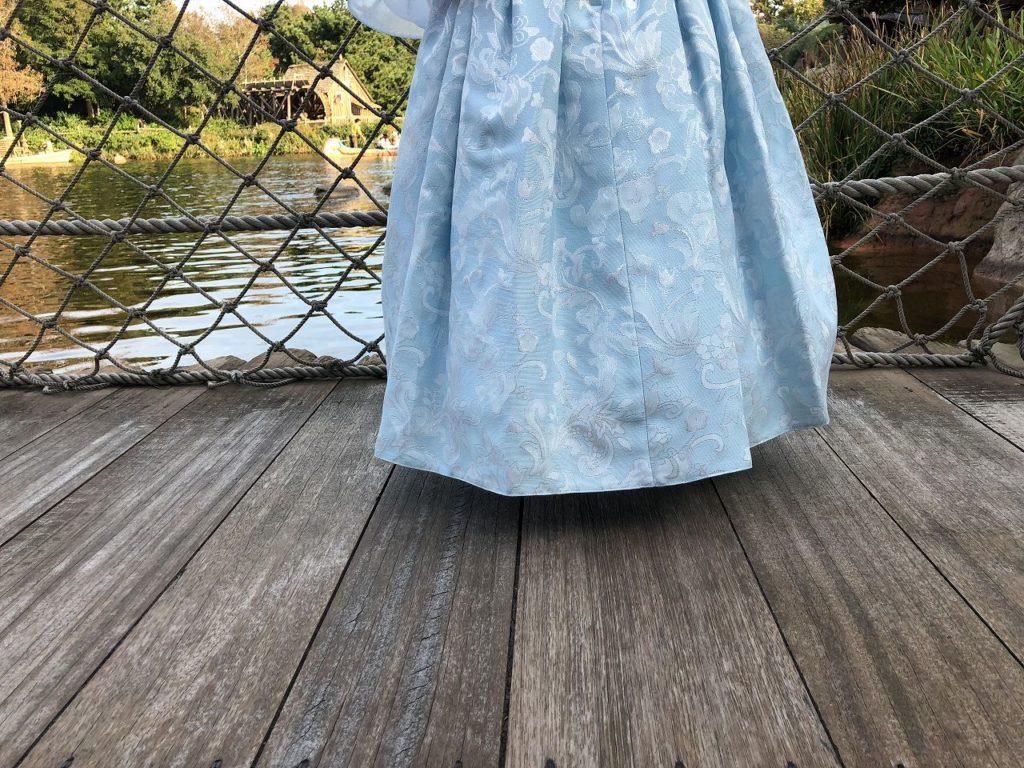 ビビディバビディブティックのドレスの丈