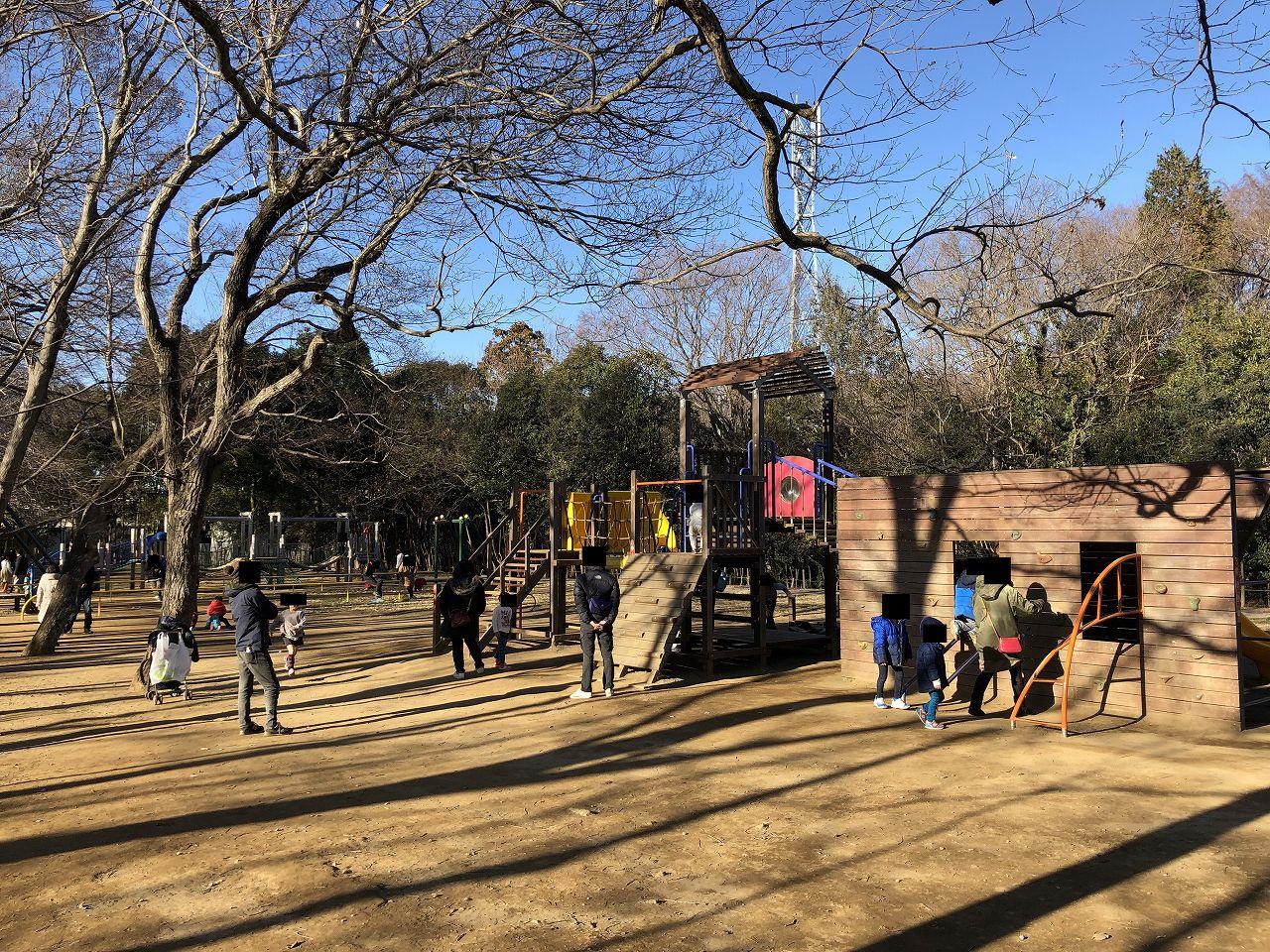 鎌ヶ谷市制記念公園アスレチック