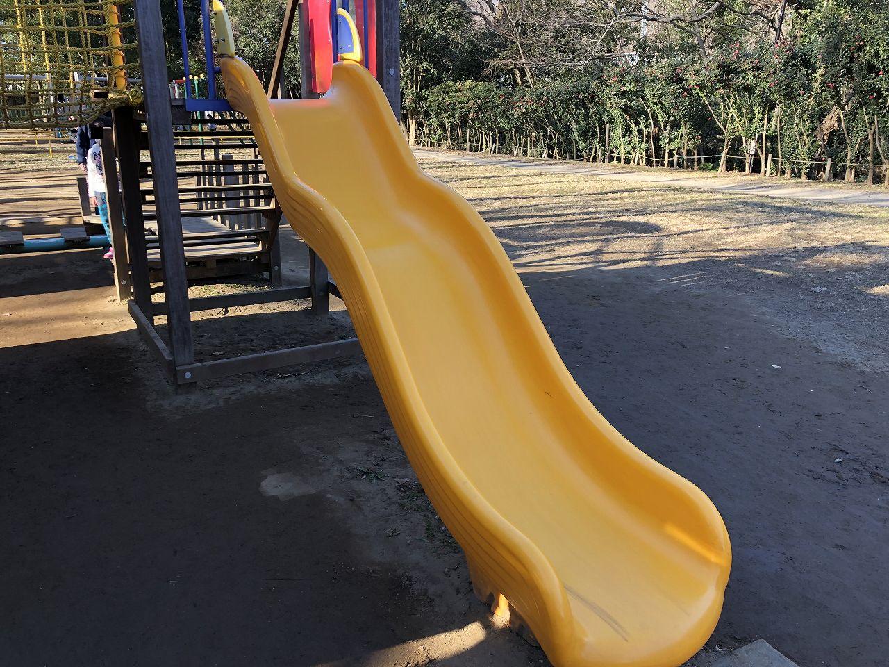 鎌ヶ谷市制記念公園の滑り台