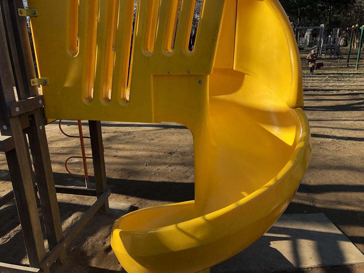 鎌ヶ谷市制記念公園の滑り台2
