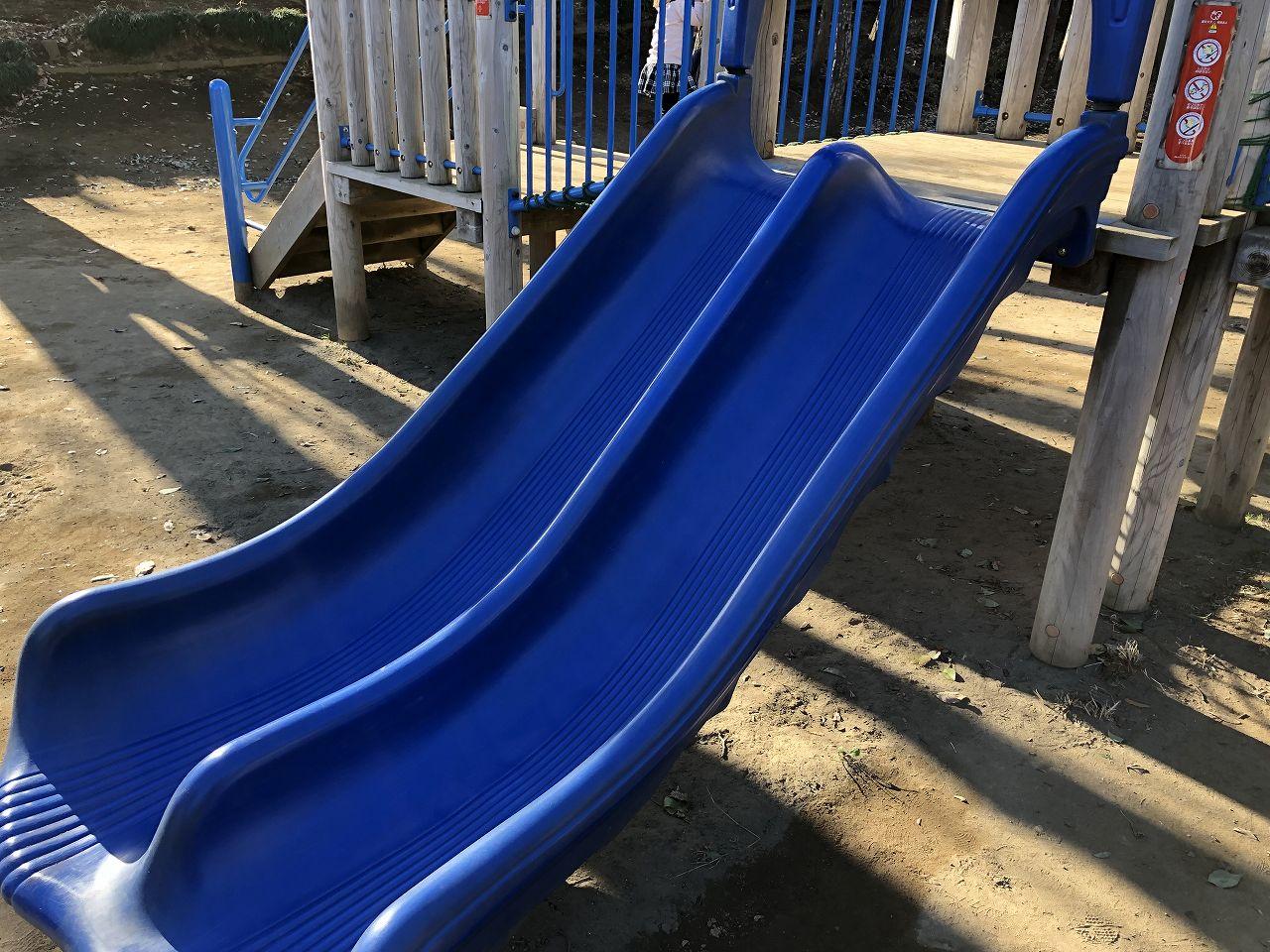 鎌ヶ谷市制記念公園の滑り台3
