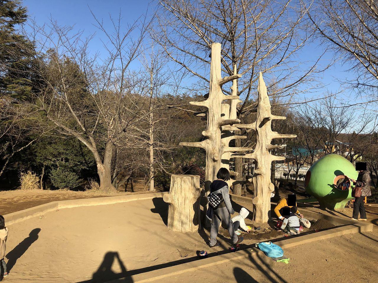 鎌ヶ谷市制記念公園の砂場