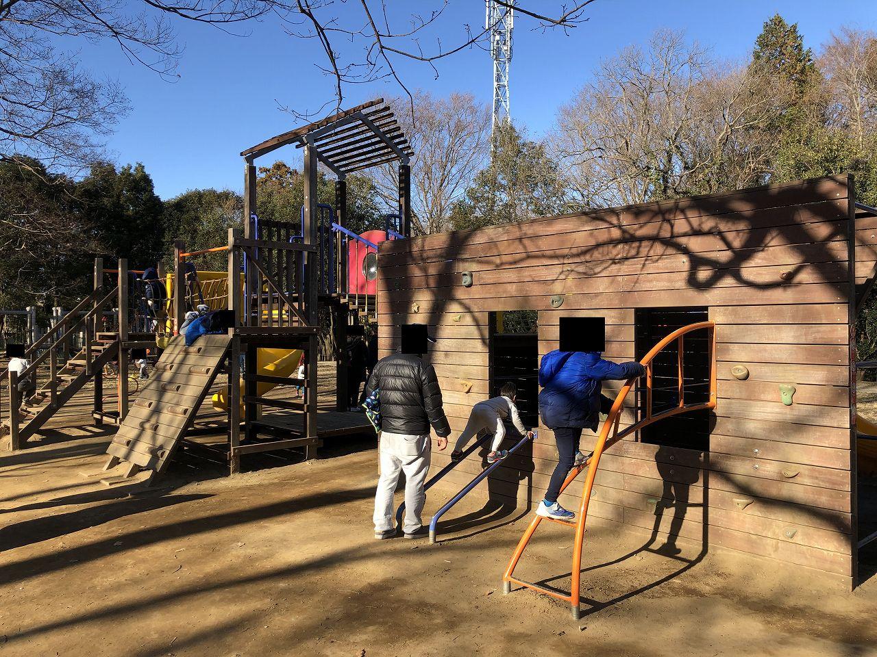 鎌ヶ谷市制記念公園は子供に大人気