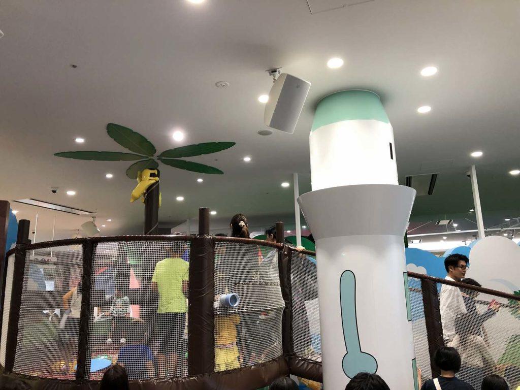 アンパンマンミュージアム横浜のわんぱくアイランド