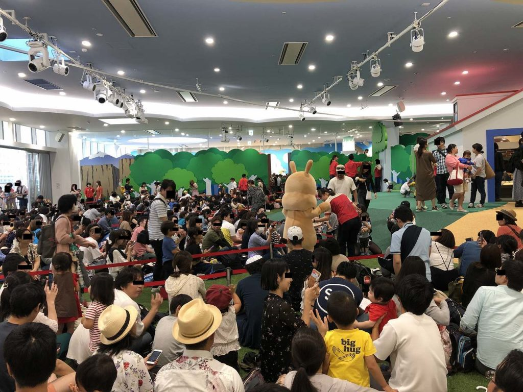 アンパンマンミュージアム横浜のひろば(メインステージ)