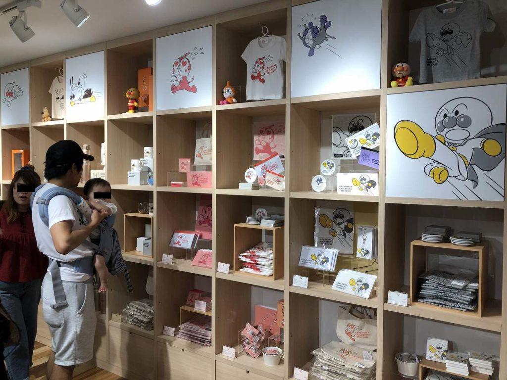 アンパンマンミュージアム横浜の限定商品