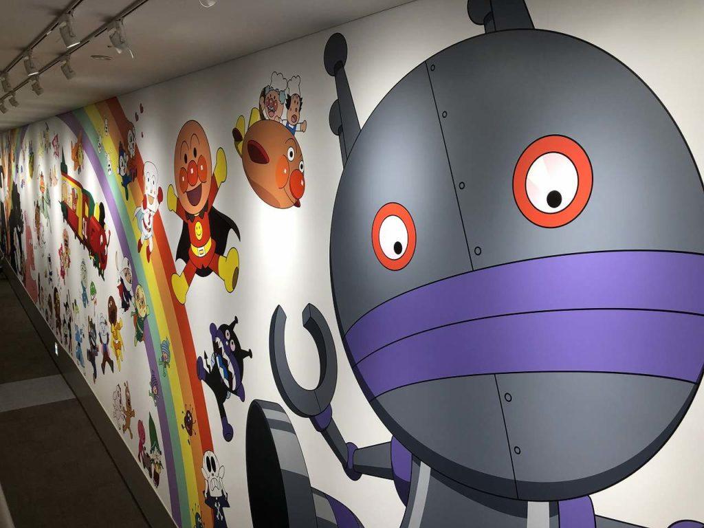 キャラクターが描かれた壁紙