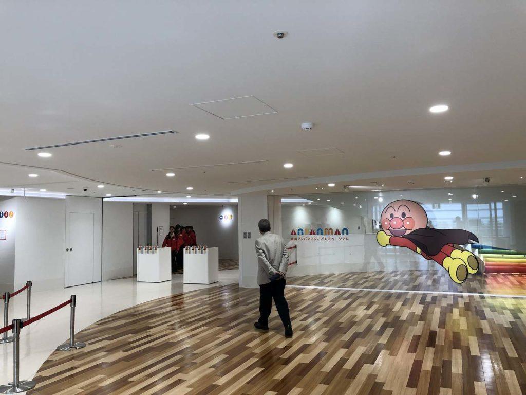 アンパンマンミュージアム横浜の入り口