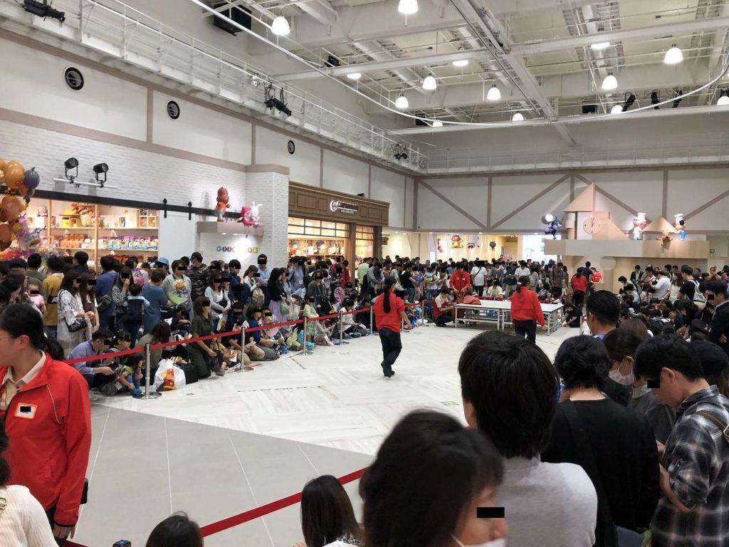 新アンパンマンミュージアム横浜の無料エリア