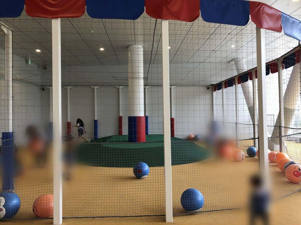 アンパンマンミュージアム横浜のボールパーク