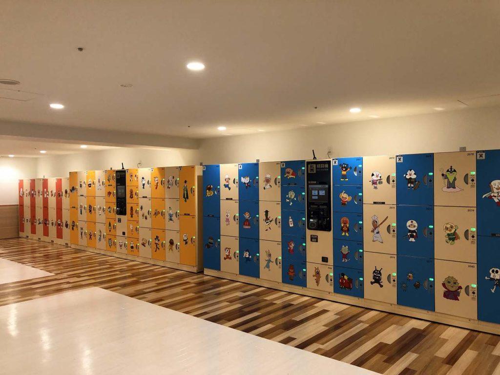 アンパンマンミュージアム横浜のコインロッカー